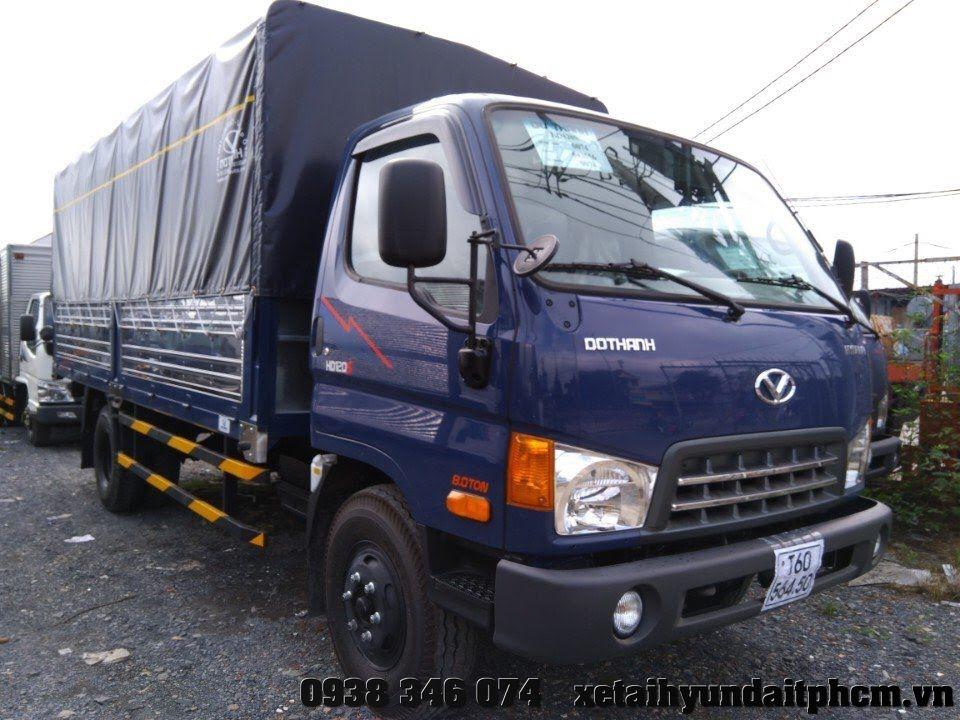 Xe Tải Hyundai hd120sl 8 tấn thùng dài 6m