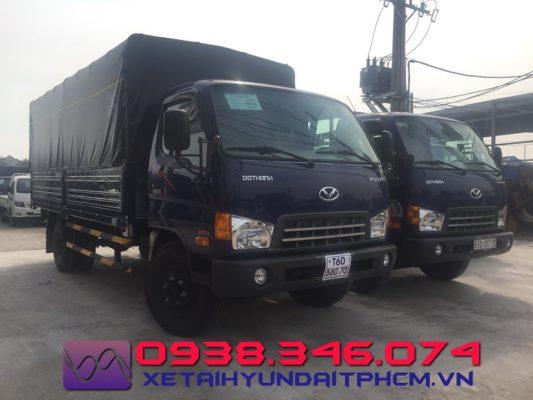 Xe Tải Hyundai HD120SL 8 Tấn Thùng Dài 6.2m