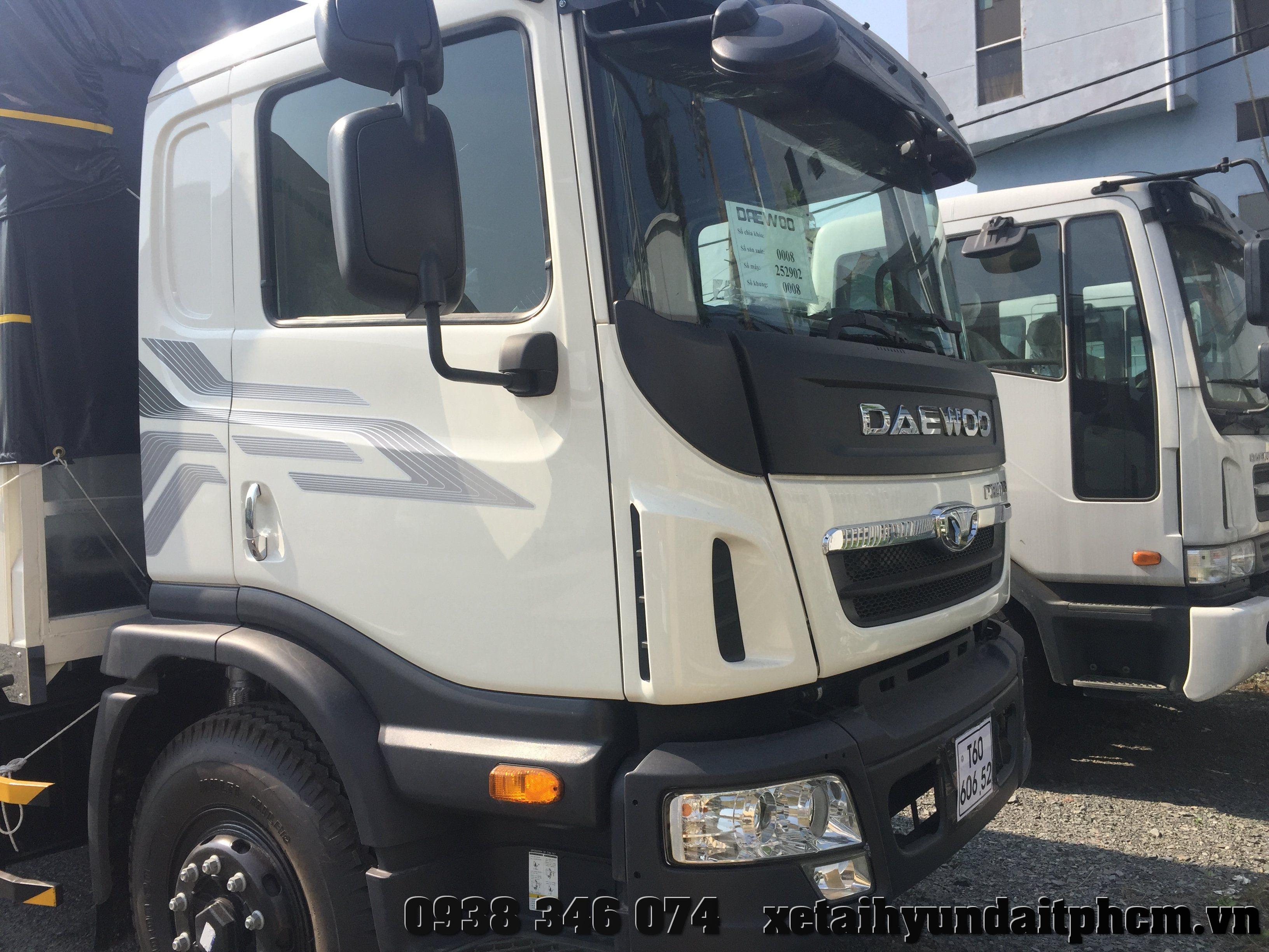 xe tải daewoo prima 2 chân 9 tấn