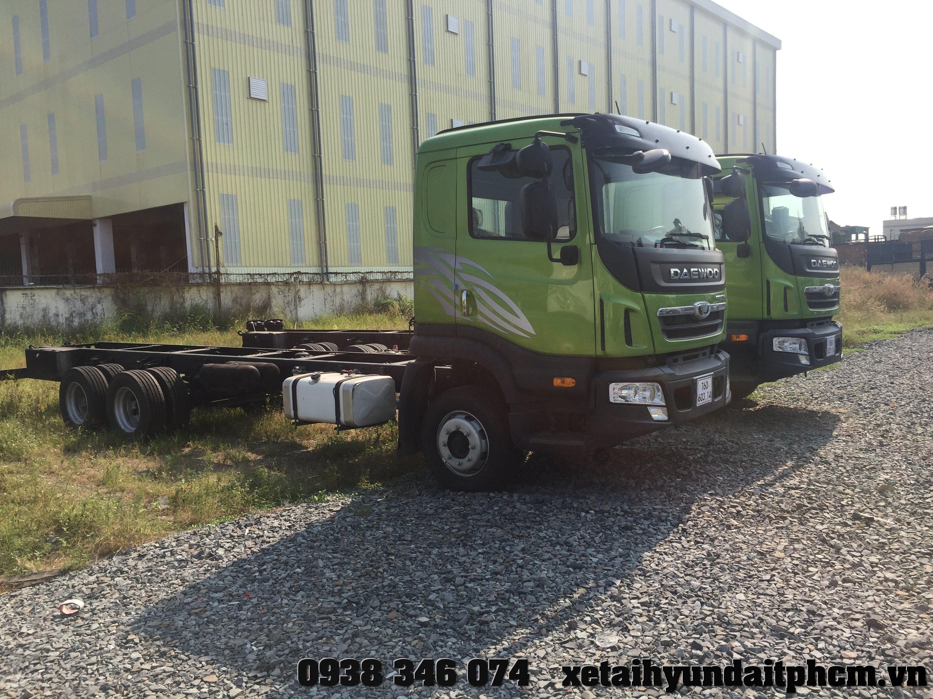 xe tải daewoo 14 tấn