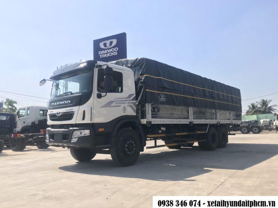 xe tải 15 tấn daewoo